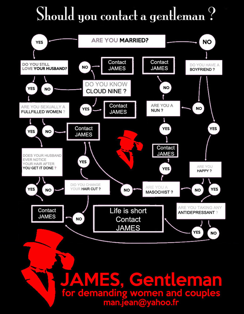 Accompagnatore gigolo Jamesman